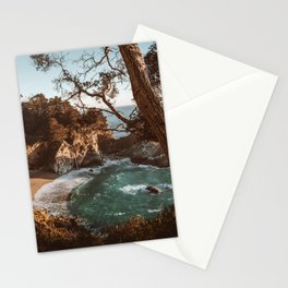 Big Sur Sunset at McWay Falls Stationery Cards