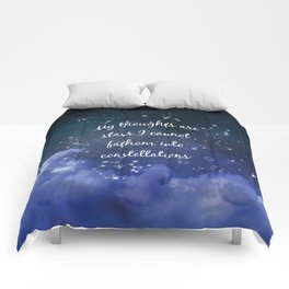 Thoughts and stars... Comforters
