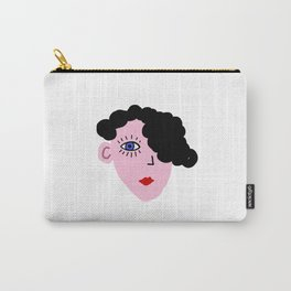Curly Carry-All Pouch