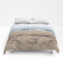 Stormy Sycamore Beach Comforters