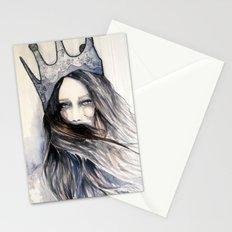 Snow Storm // Fashion Illustration Stationery Cards