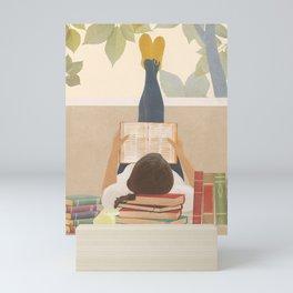 Bookworm Mini Art Print