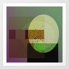 Cartesian egg Art Print