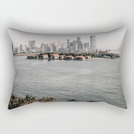 New York City Ellis Island Historic Monument Rectangular Pillow