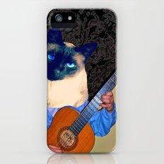 My Cat Plays Guitar Slim Case iPhone (5, 5s)
