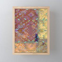 Bohemian Abstract Framed Mini Art Print