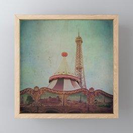 Bohemia of Paris Framed Mini Art Print