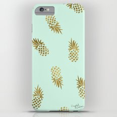 Pineapple Mint Slim Case iPhone 6s Plus