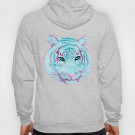Tyger, Tyger, Burning Blue Hoody