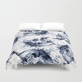 Skull Pattern Duvet Cover