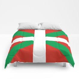 Basque Country: Euskaldun Flag Comforters