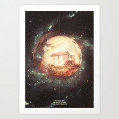 An Untidy House Art Print