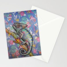 Chameleon(4) Stationery Cards