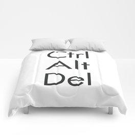 Ctrl Alt Del Comforters