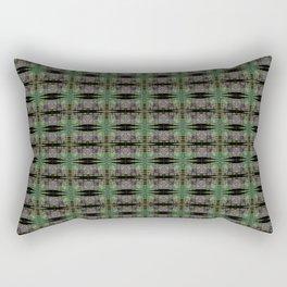 Green Eyed Moons Rectangular Pillow