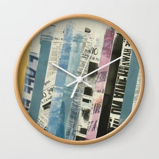 STRIPES 3 Wall Clock