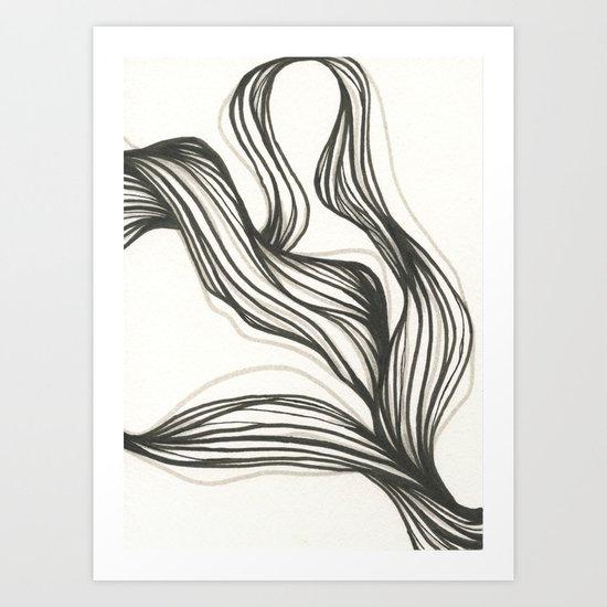 hair series 2 Art Print