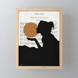 Music in the sun Framed Mini Art Print