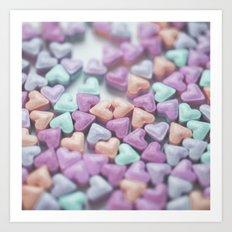 Hearty Love Art Print