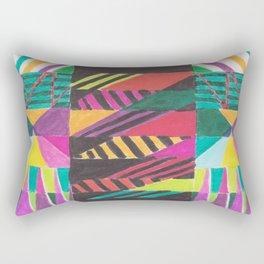 African Flyleaf Rectangular Pillow