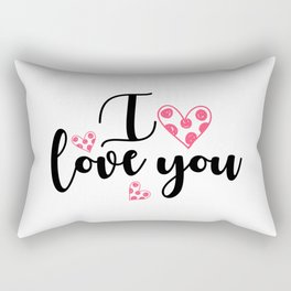 I love you 2 Rectangular Pillow