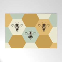 Beehive Welcome Mat