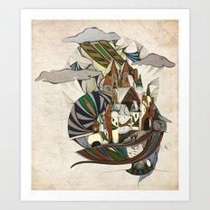 Rap-Unzel Art Print