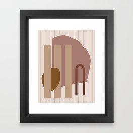 // Shape study #25 Framed Art Print