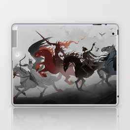 Four Horsemen of the Apocalypse Laptop & iPad Skin