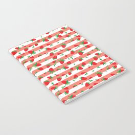 Strawberry field Notebook