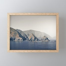 Marlborough Sound Framed Mini Art Print
