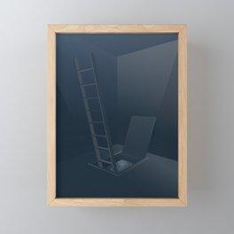 Escape the room Framed Mini Art Print