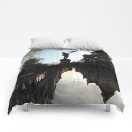 Bavarian Birdman - Upside Up III Comforters