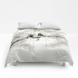 Surprised kitty Comforters