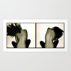 Take 2- (Large Format) Art Print