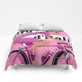 GIRO D'ITALIA Grand Cycling Tour of Italy Comforters