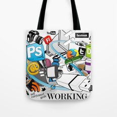 My Working Life Tote Bag