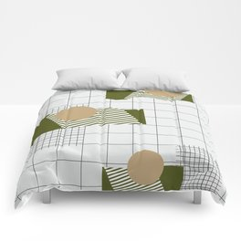 Checks Lines Grid Comforters