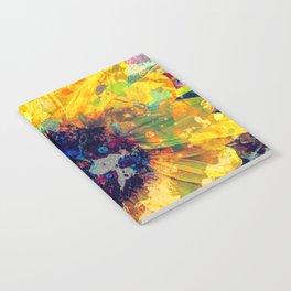 Sunflower Batik Notebook