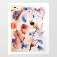 Colour Bursts-Part 2 Art Print