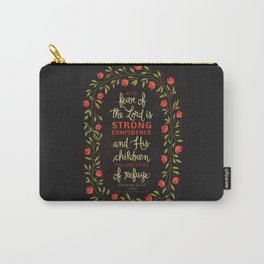 Proverbs 14:26 Carry-All Pouch