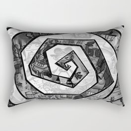Past the madness... Rectangular Pillow