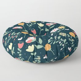 floral 4 Floor Pillow