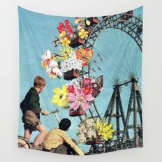 Bloomed Joyride Wall Tapestry