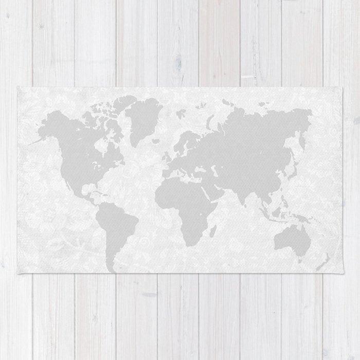 Intricate world map rug by bysamantha society6 intricate world map rug gumiabroncs Choice Image