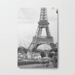 La Fantaisie de la Tour Eiffel Metal Print