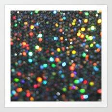 Sparkles: Paint Daubs Art Print