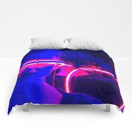 CYBERPUNK REALITY Comforters