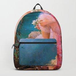 Water Lily - Hans Zatzka Backpack