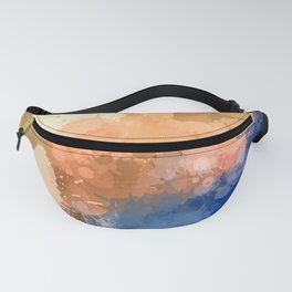 "Modern Contemporary "" Tranquility""Abstract Fanny Pack"